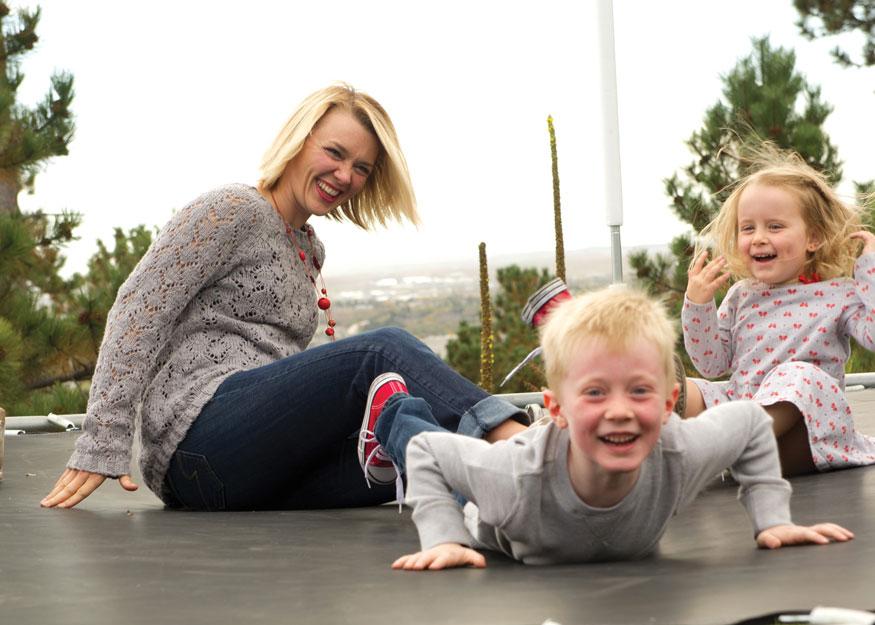 Kari with Kids