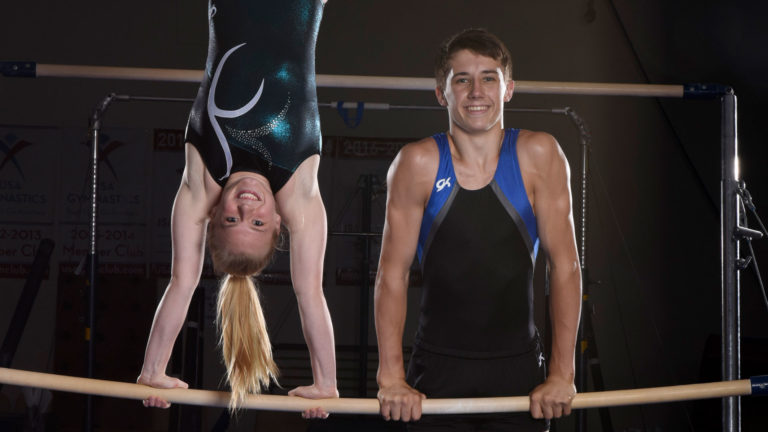Joe and Chelsey Gymnasts