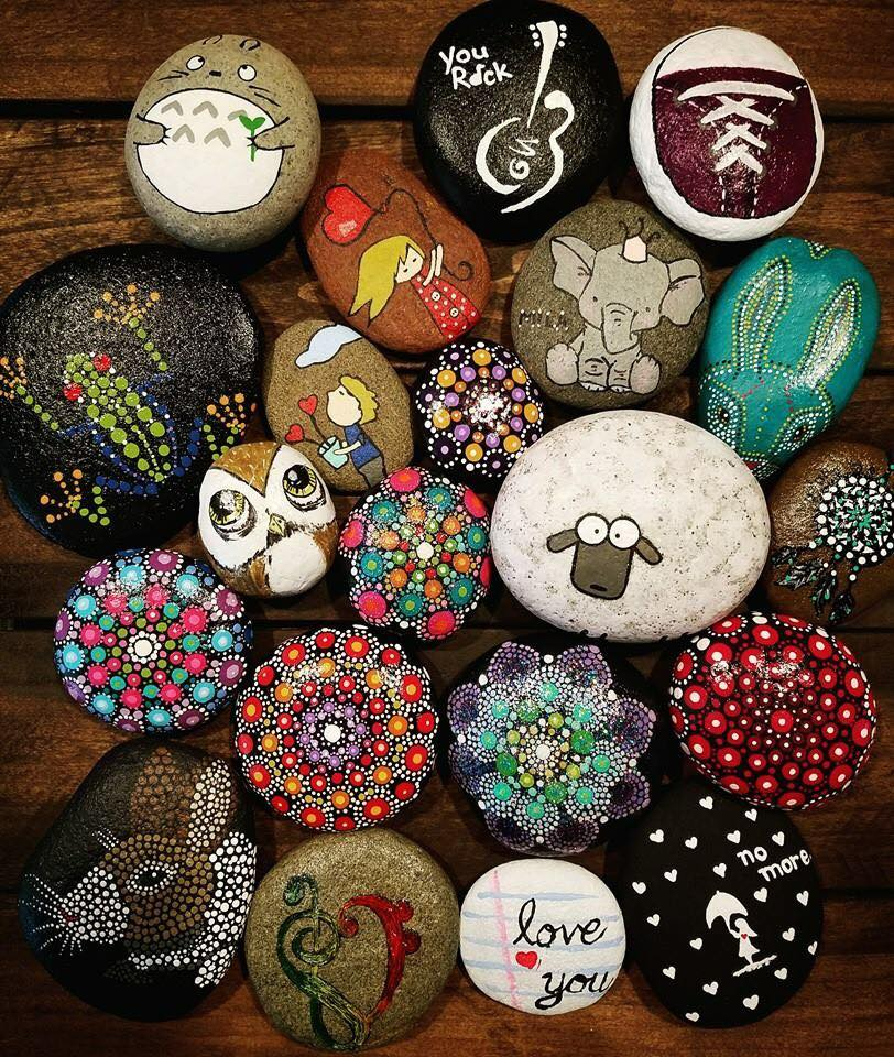 Rapid City Rocks Painted Rocks